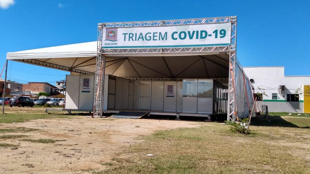 Centro de Triagem 24h para Covid-19 é inaugurado Iguaba Grande