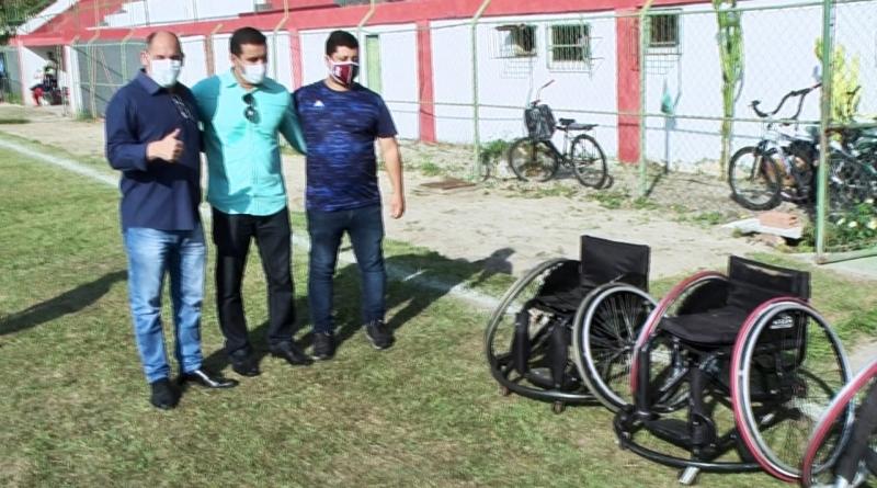Arraial do Cabo terá cadeiras adaptadas para projeto de basquete