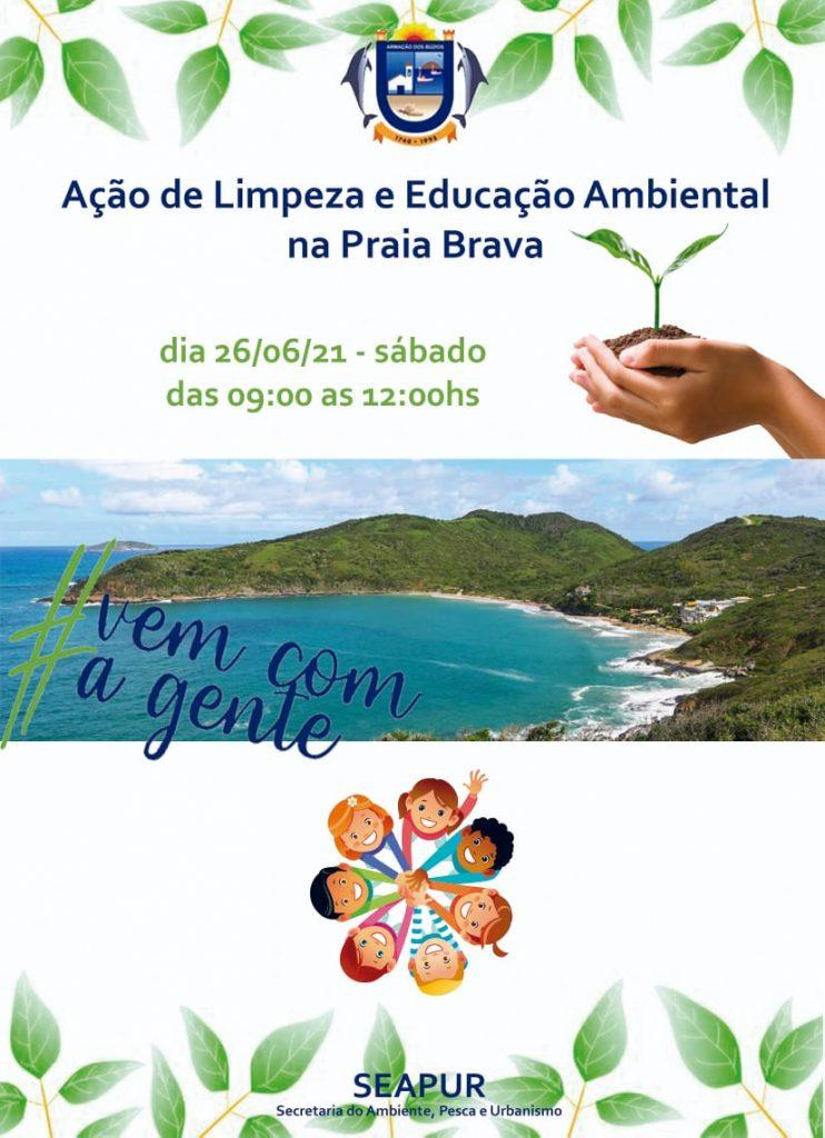 Praia Brava, em Búzios, terá projeto para limpeza