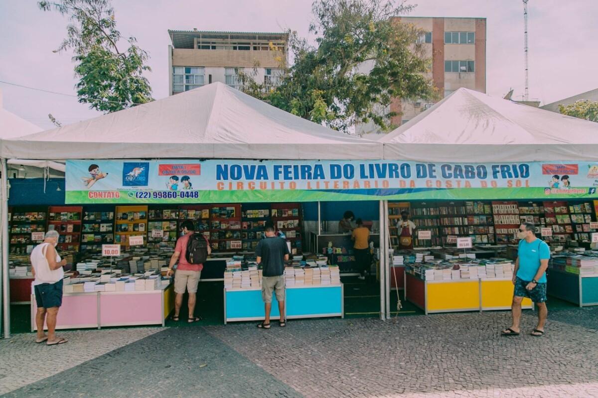 Nova Feira do Livro de Cabo Frio retorna à Praça Porto Rocha